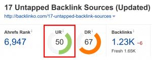Ahref URL评级