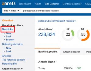 网站外链分析