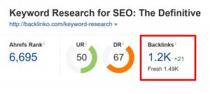关键词搜索博文外链数据