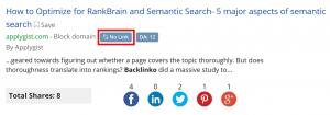 BuzzSumo工具可以找到提及的页面