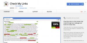 Check my links插件截图