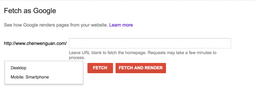 网站版谷歌抓取工具