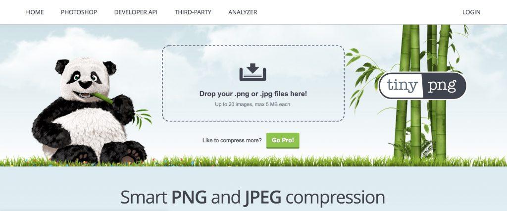 TinyPNG在线图片压缩工具