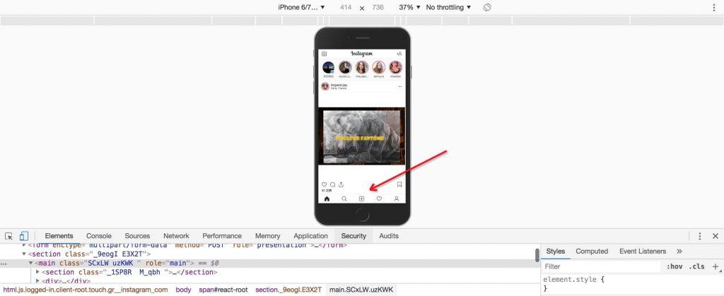 在Chrome完全切换到App端操作界面